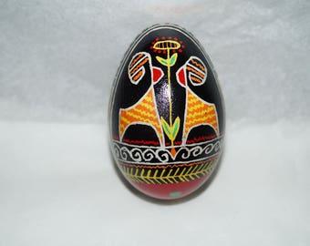 Pysanky Goose Egg Ukrainian Hand Dyed