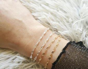 Dainty Bar Bracelet, Everyday Bracelet, Silver Bracelet, Minimal Bracelet, Delicate Bracelet, Everyday Jewelry, Stacking Bracelet, Bracelet