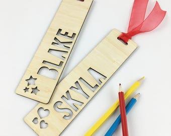 Name Bamboo Bookmark (2 designs)