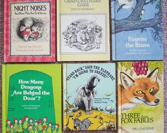 Elephant book stand etsy childrens book lot of 12 1970s weekly reader book club collection stand back said publicscrutiny Image collections
