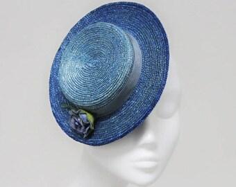 The Navajo  - Ocean Blue Boat Hat