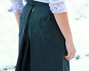 Ladies culottes sewing pattern and detailed step by step photo tutorial