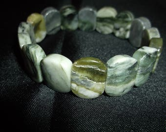 Chunky natural stone beads