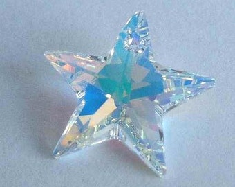 1 SWAROVSKI 6714 Pendant Crystal AB STAR Sparkle