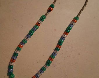 Beaded paracord fiddle