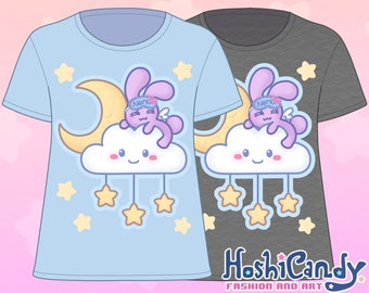 Sleepy Cloud Bunny T-Shirt