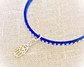 Yoga jewelry, yoga gift for her, hamsa bracelet, womens gift, 21st birthday gift for her, graduation gift, positive jewelry, travel gift