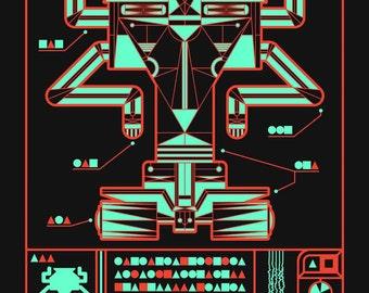 THE ROBOTS - ZX Destructor Bot