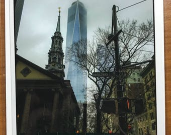 World Trade Center and Church