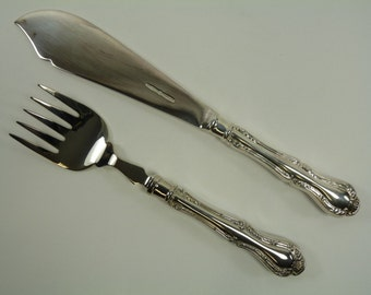 MAPPIN and WEBB Cutlery - RUSSELL Pattern - Fish Servers