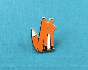 Little Fox Hard Enamel Pin