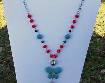 Butterfly necklace, they by Norma