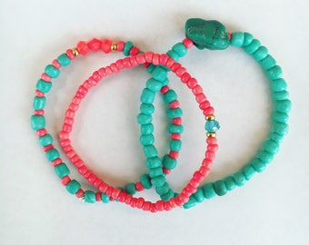 Tropical Sea bracelets