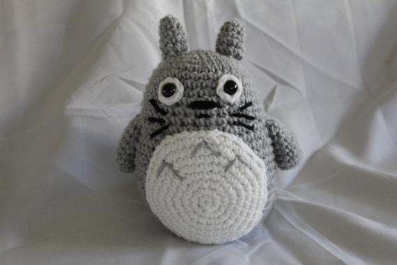 Amigurumi Totoro : Chibi totoro amigurumi totoro plushie crochet totoro my