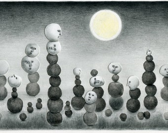 Limited Edition Print A4 size - Moonlight 2/50