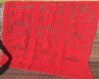 Crochet Teddy Bear Parade Afghan