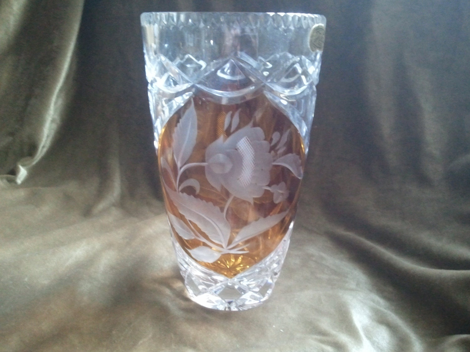 24 crystal cut to clear julia made in poland vase zoom reviewsmspy