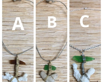 Beach Anchor Necklaces Your Choice