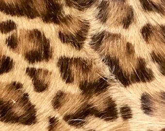 Hair on Hyde Animal Print Leather earrings