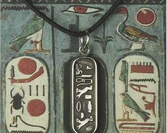 Cleopatra Cartouche pendant