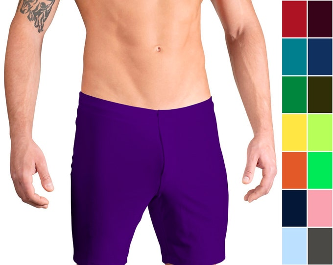 Men's Board Shorts in 21 Solid Colors by Vuthy Sim
