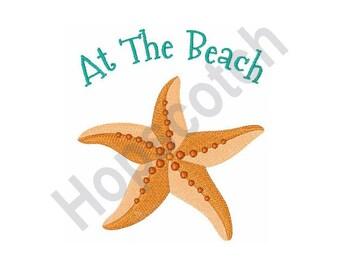 Starfish- Machine Embroidery Design