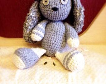 Bunny crochet, hand made