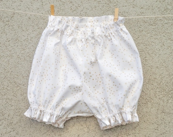 3 month star cotton baby bloomers