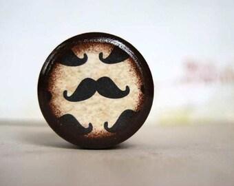Mini Mustache Pill Box - Movember - Stocking Stuffers