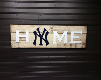 New York Yankees HOME plaque, sign