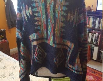 Southwestern aztec sweater