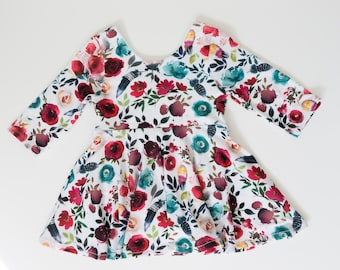 Baby girl clothes - boho baby girl clothes - summer outfit for toddler girl - birthday outfit toddler girl  - baby shower gift - girls top
