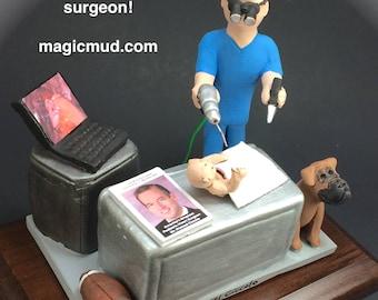 Pediatric Surgeon's Figurine, Children's Surgeon's Gift, Surgeon Graduation Gift, Doctor Graduation Present, Paediatrician Graduate Gift