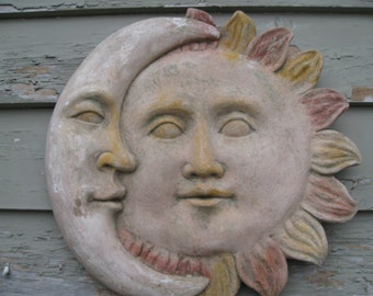 Sun and Moon Face