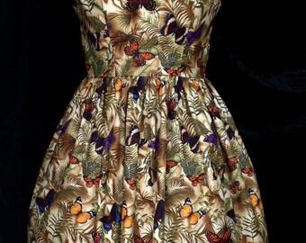 Jungle Butterflies Dress