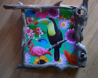 table wood Driftwood toucan