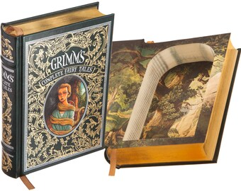 Hollow Book Safe - Grimm's Complete Fairy Tales (Leather-bound) (Magnetic Closure)