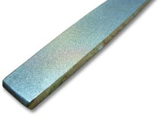 "GLS-317, 10"" Diamond Coated Flat Hand File, Fine Grit 300"