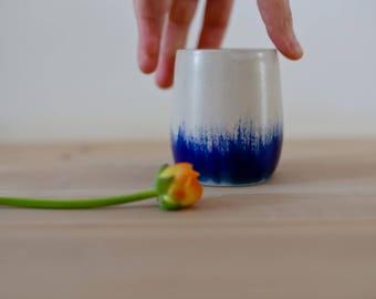 White ceramic planter, Succulent planter, Ceramic plant pot, Home decor, Hand decorated, Ceramic Pots
