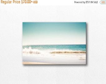 ON SALE ocean photography canvas wrap12x18 24x36 fine art photography beach canvas art nautical decor photography canvas large waves gallery