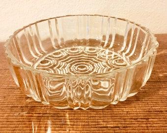 Vintage Pressed Glass Bowl