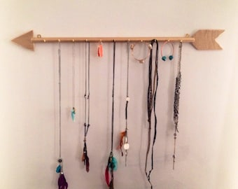 Gold Arrow Jewelry Hanger