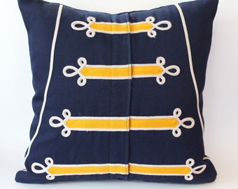 Custom Marching Band Uniform Pillow Cover -  Memory Pillow - Mar