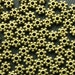 5mm Bronze Daisy Spacer Beads - Set of 200 - Antique Bronze Flower Beads, 5mm Snowflake Bead, Lead Free, Nickle Free, Cadmium Free (GBD0001)