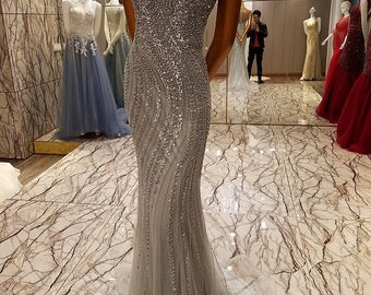 Evening Gown sparkle mermaid