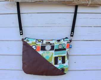 Shoulder bag, strap, Cross body bag, bag, Vintage photographer shoulder bag,