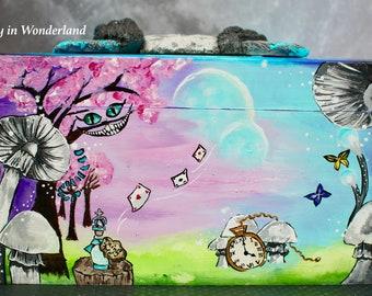 Box wooden storage box, Alice