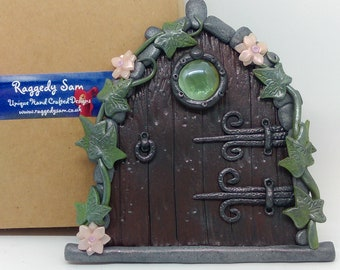 Handmade unique fairy door (Medium)