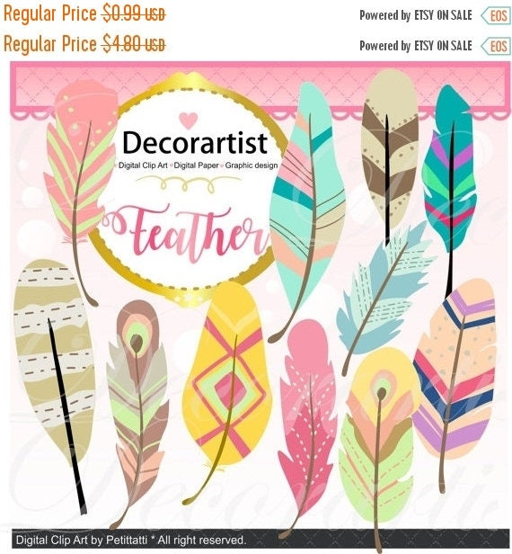 on sale feathers clipart feather clipart painted feathers clipart rh etsystudio com Printable Scrapbook Pages Baby Scrapbook Doodle Clip Art