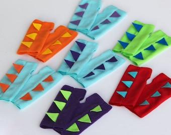 Kids Halloween DINOSAUR Power Gloves - Ships Fast -  Kids Halloween Dino Costume Accessories - 7 color options - Dinosaur Party